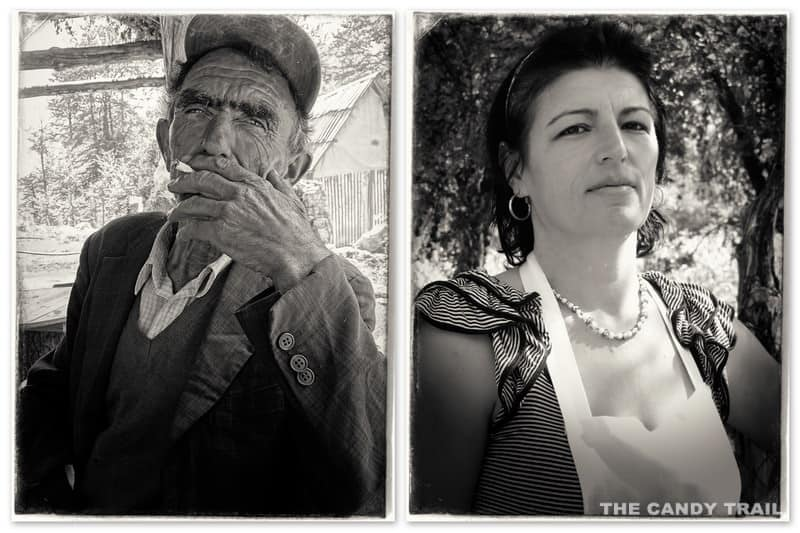 albania old man and middle age woman