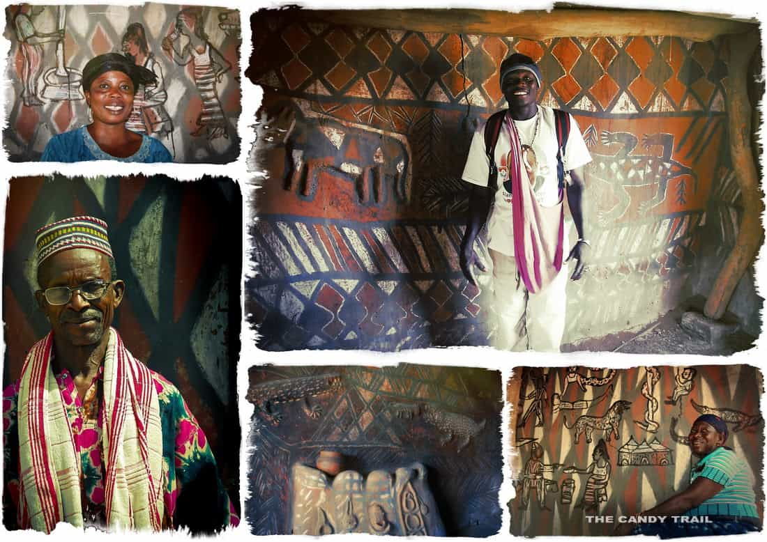 faces sirigu village ghana