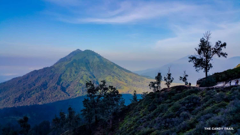 ijen volcano indonesia surrounds