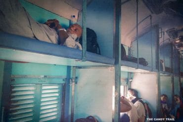 india sleeper train carriage