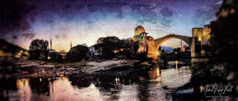 mostar-stone-bridge-at-night-art-by-michael-robert-powell