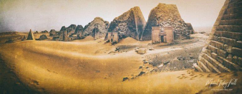 Meroe Pyramids - Sudan