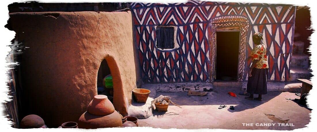 sirigu painted village ghana
