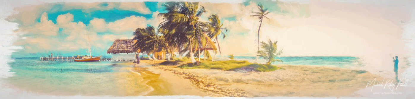 tiny-island-belize-panorama-art
