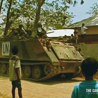 UN APC Maliana East Timor