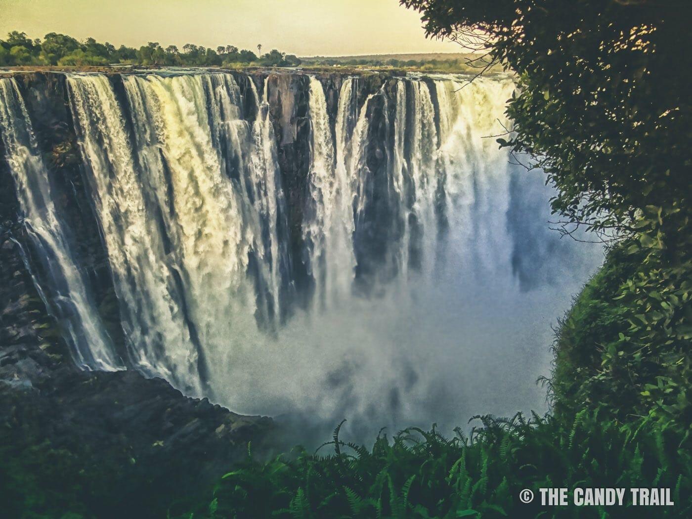 victoria falls vista zimbabwe