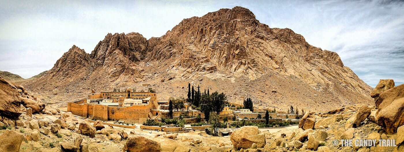 saint-katherines monastery at mount-sinai hike