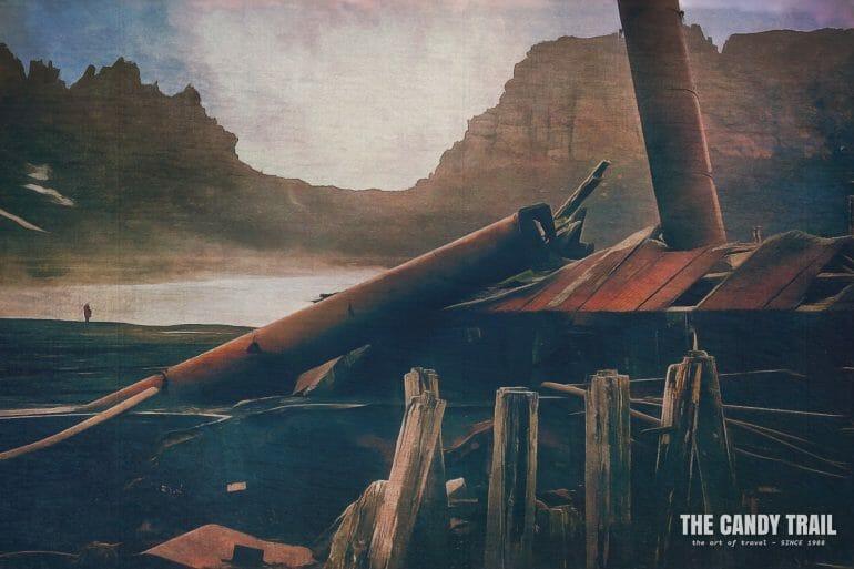 deception-island-ruins antarctica