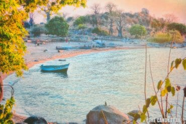 Ulisa Bay afternoon lakoma island lake malawi