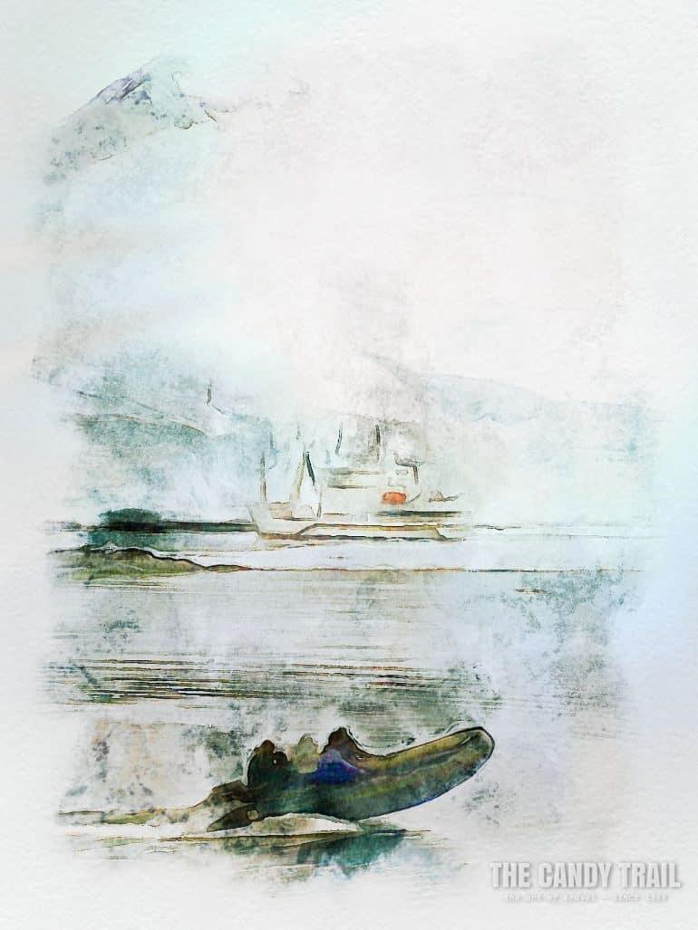 antarctica-tourist-zodiac-boat-and-arctic-ship