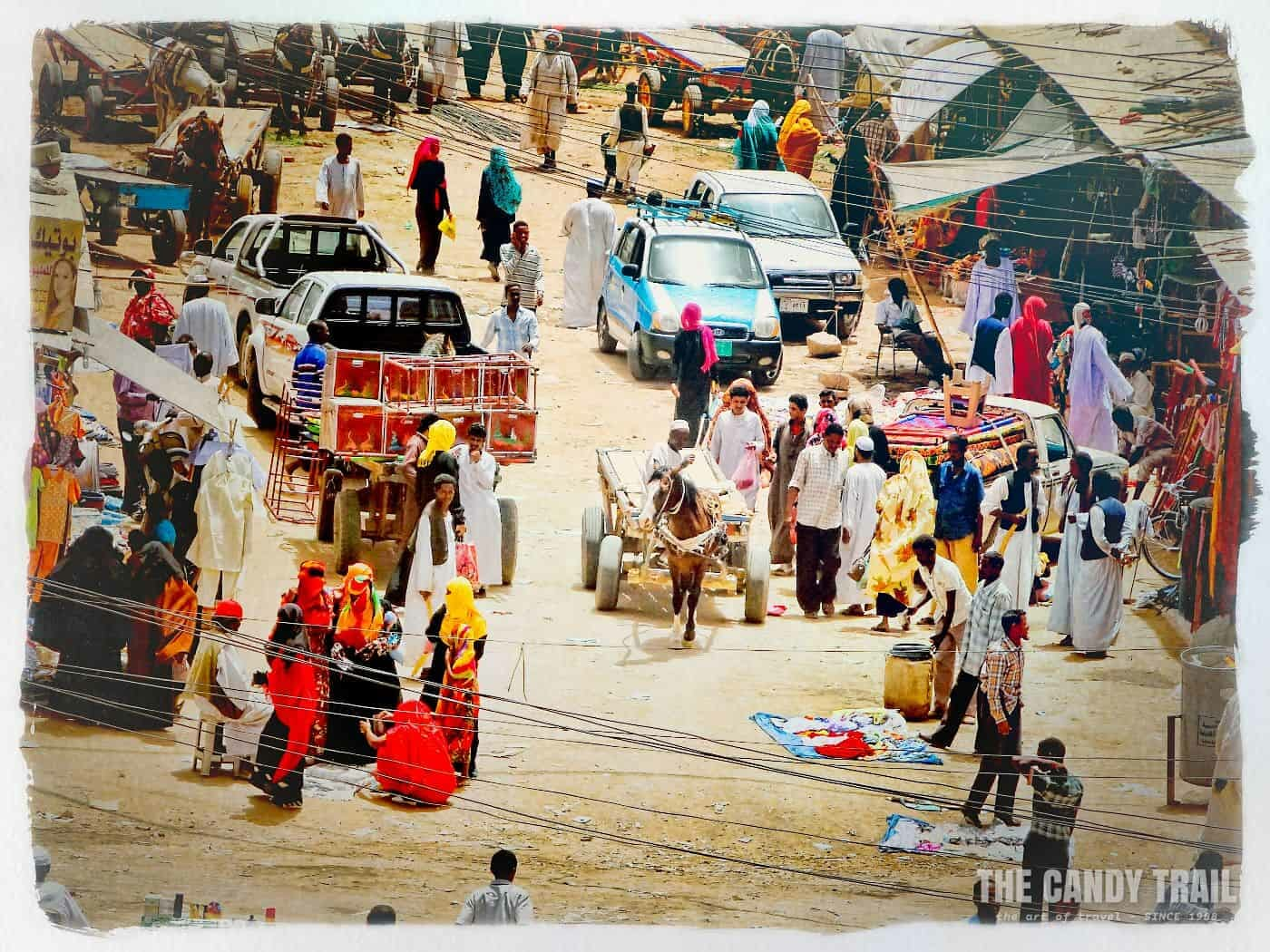 street scene kassala sudan