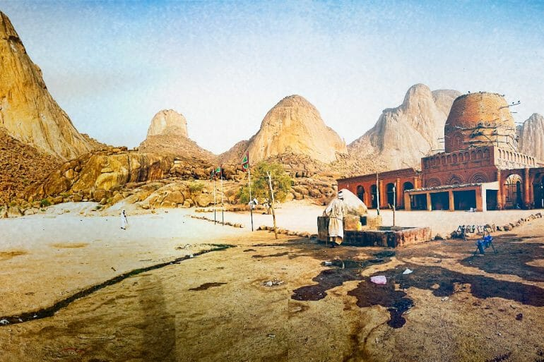 taka mountains mosque kassala sudan