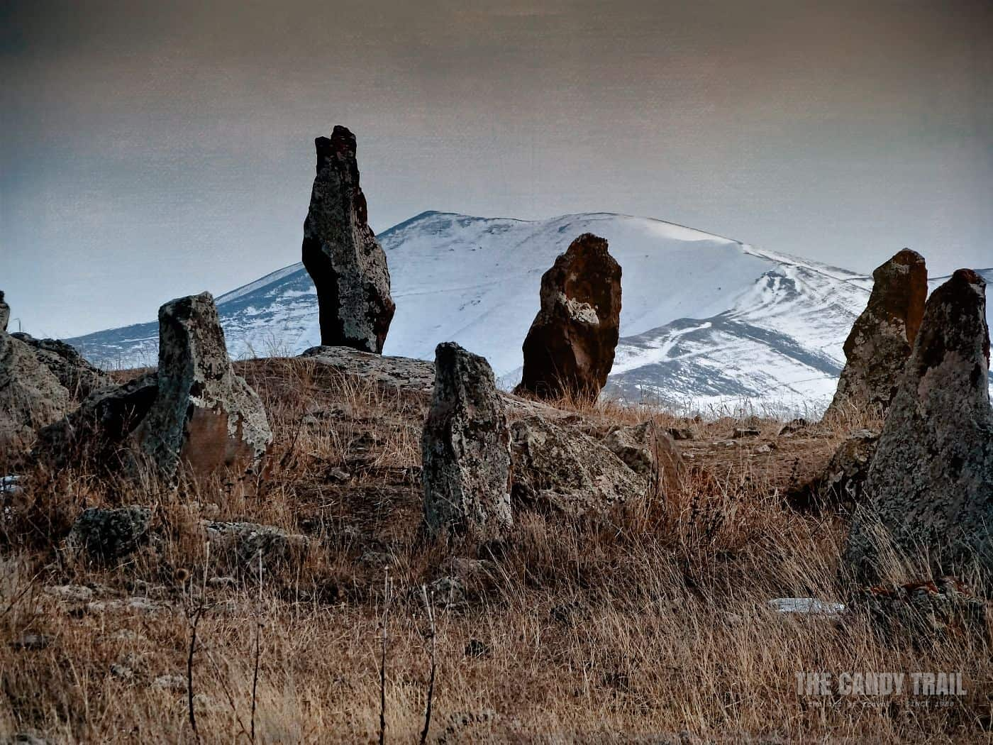 Standing Stones Zorats Karer Stone Circle Armenia