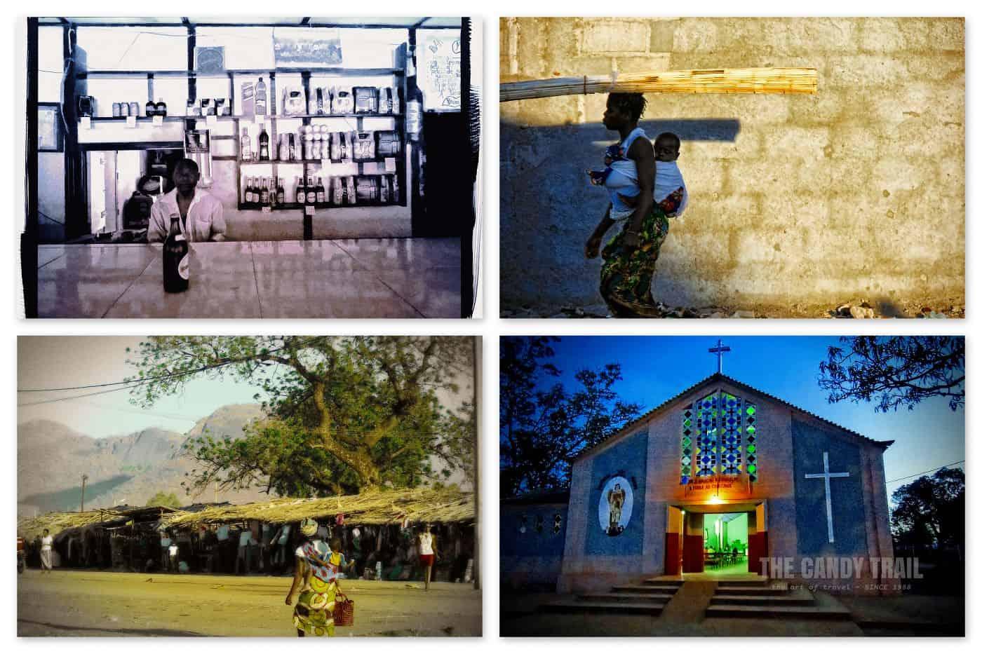 Cuamba Street Scenes Mozambique