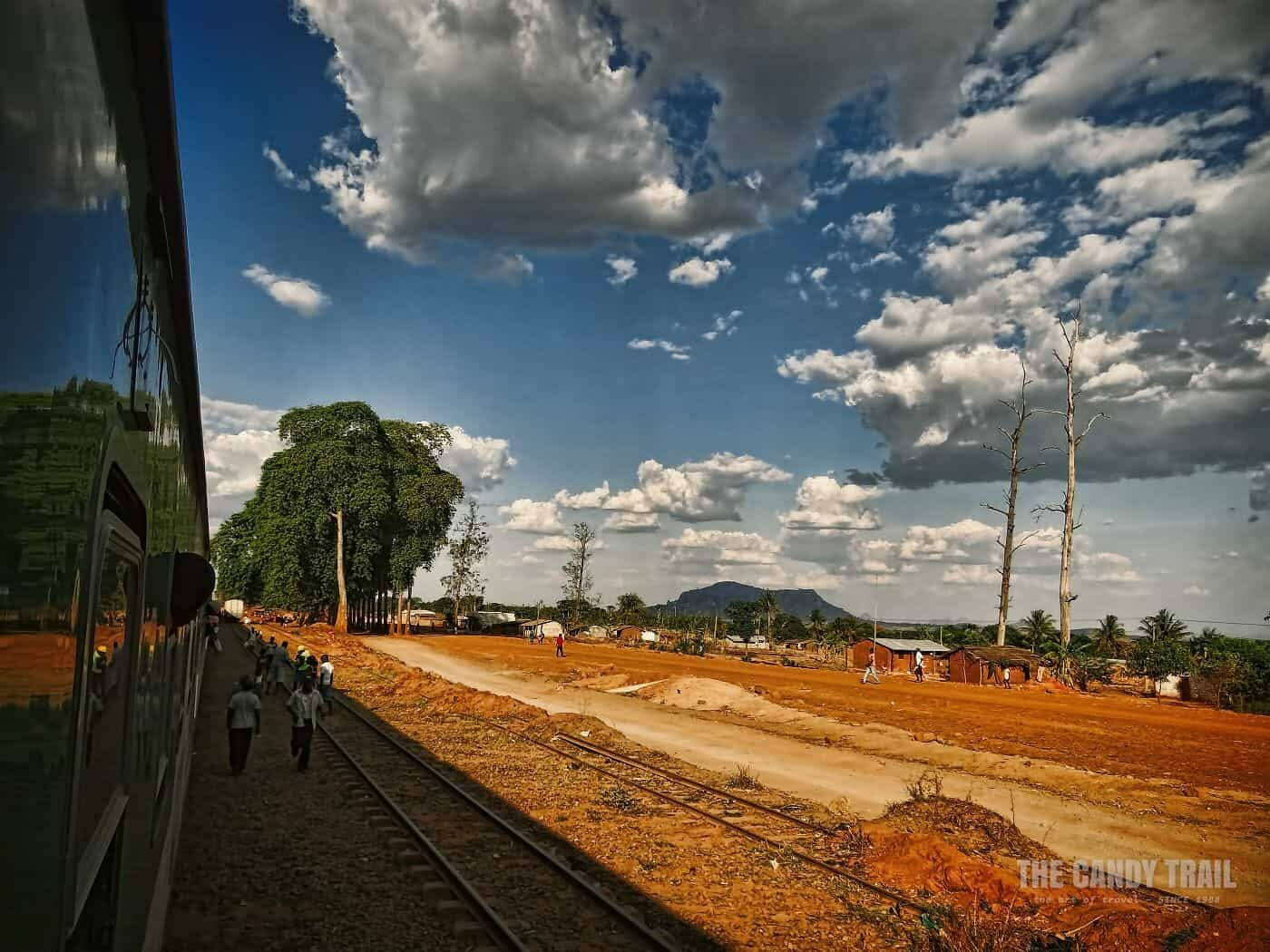 Cuamba To Nampula Train traveling Northern Mozambique
