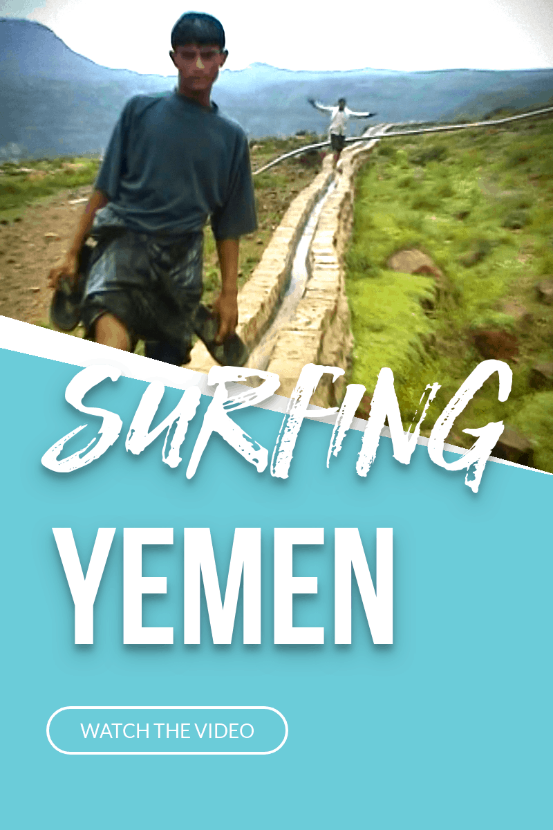 Boys Surfing Yemen Video