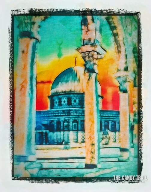 Dome Of The Rock Jerusalem Art By Mrp