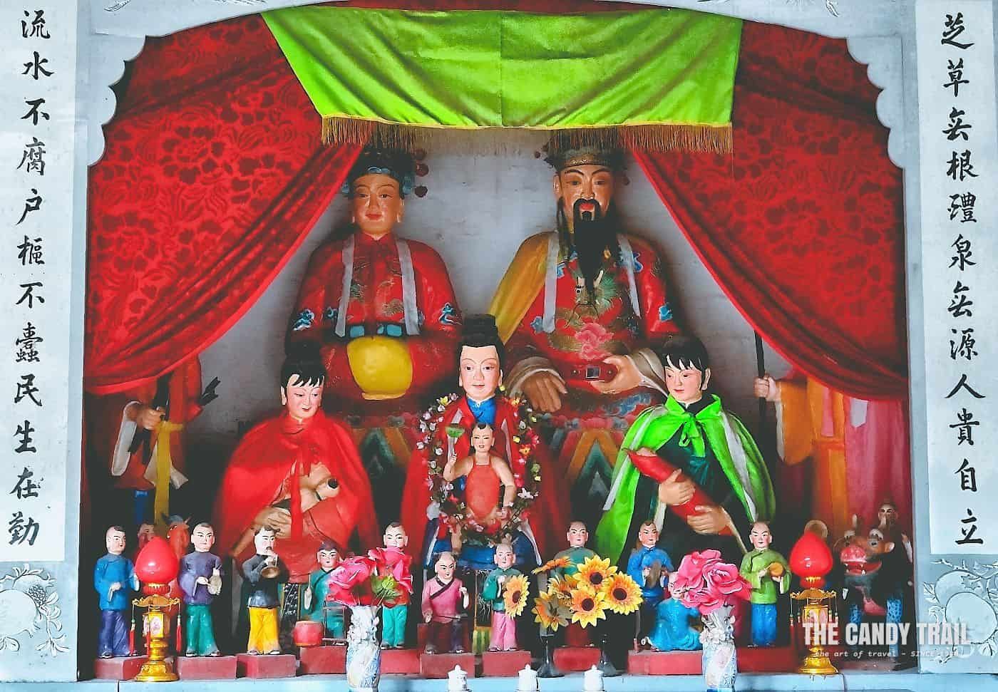 Shrine Figures Xinye Village China
