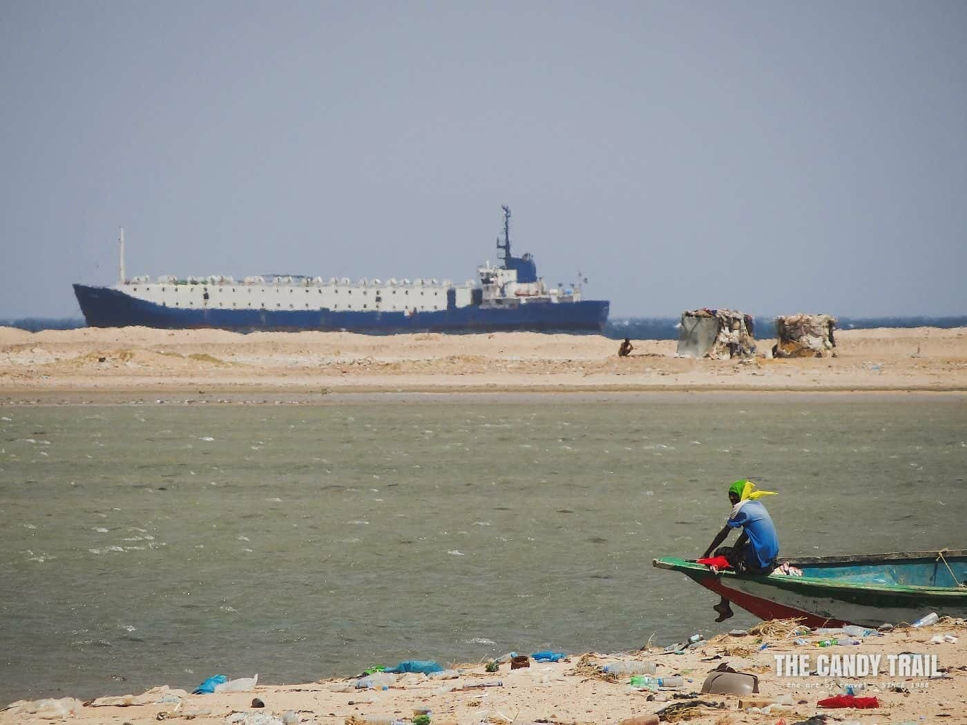 Container Ship Arriving Berbera Somaliland