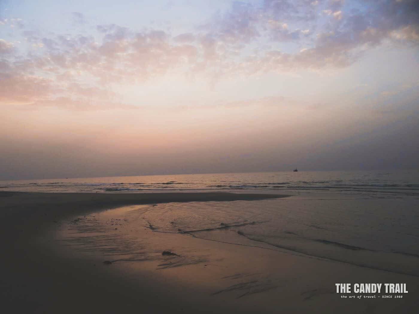 Ocean Sunset Berbera Somaliland
