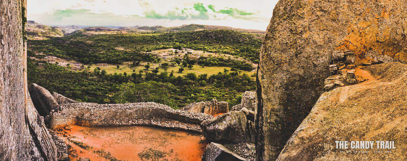 Great Zimbabwe Ruins Hill Top Vista