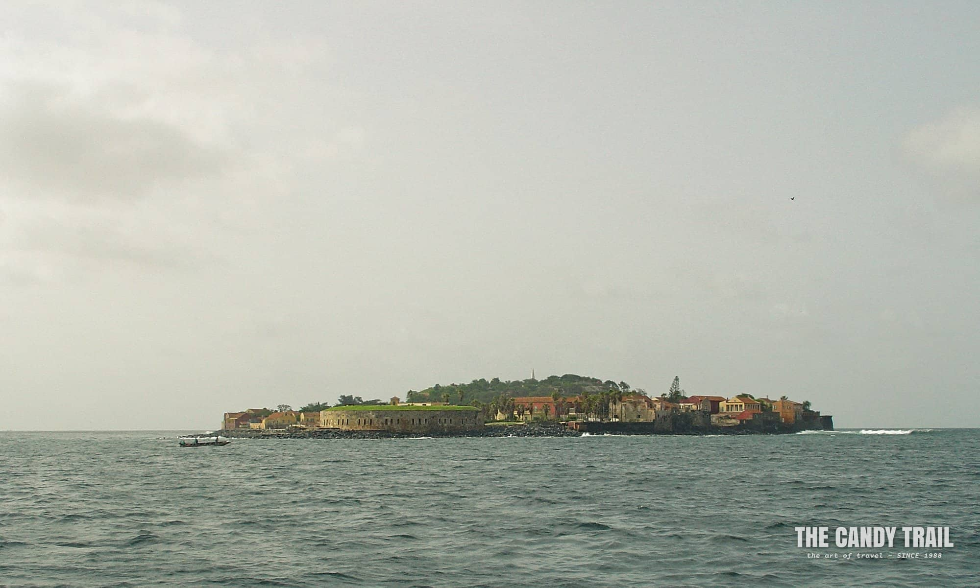 Approaching Goree Island from Dakar
