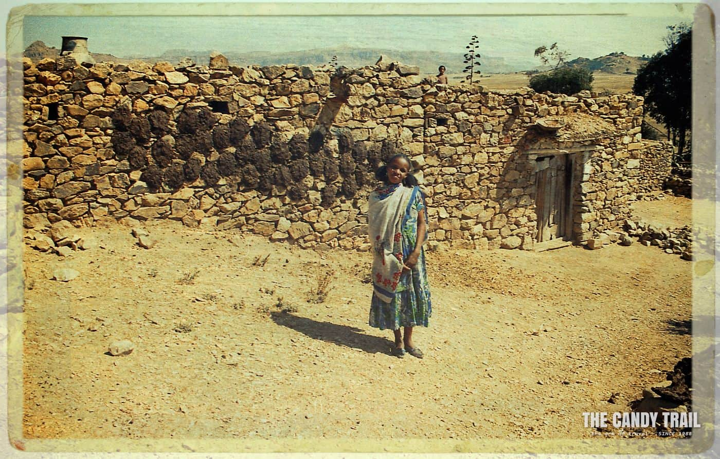 eritrean village girl matara eritrea 1