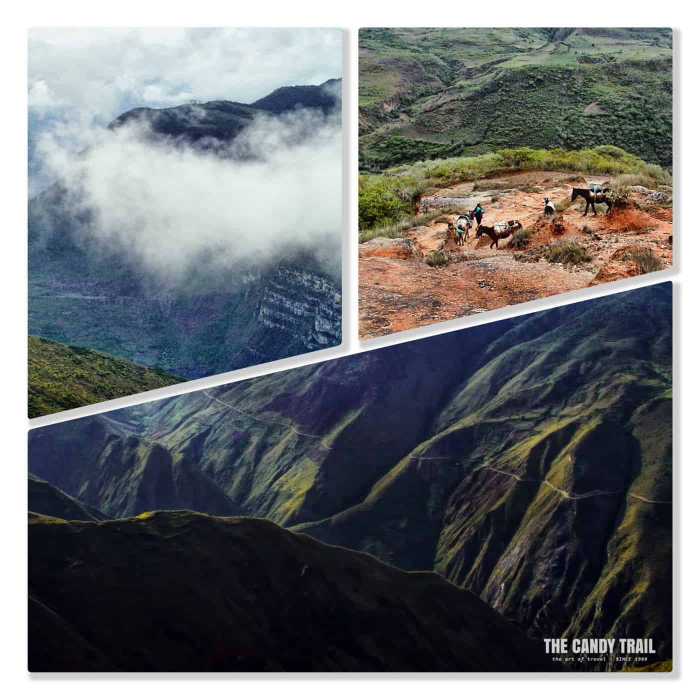 kuelap ruins mountain hike chachapoyas peru
