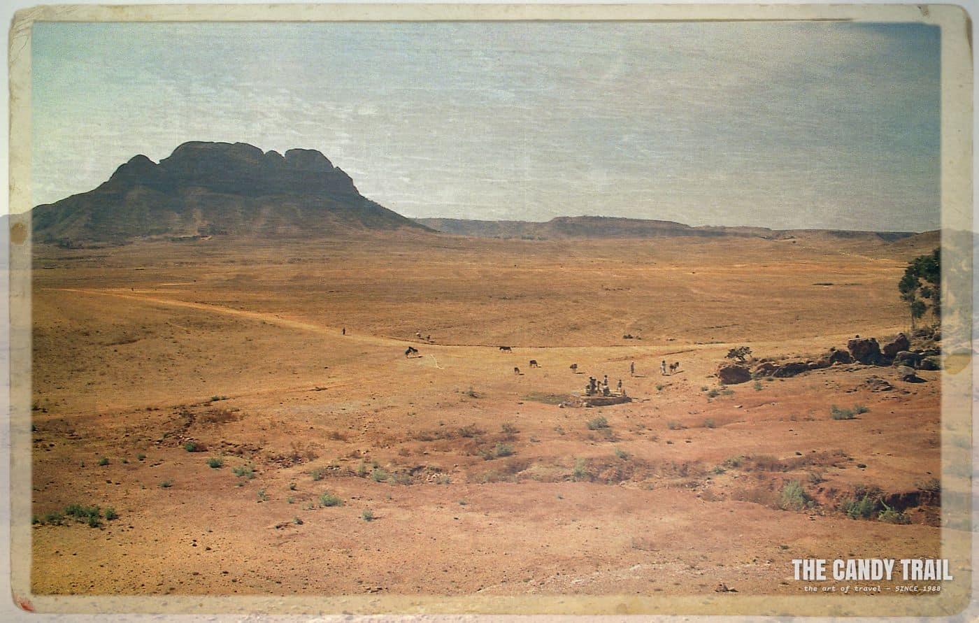 matara eritrea afternoon landscape