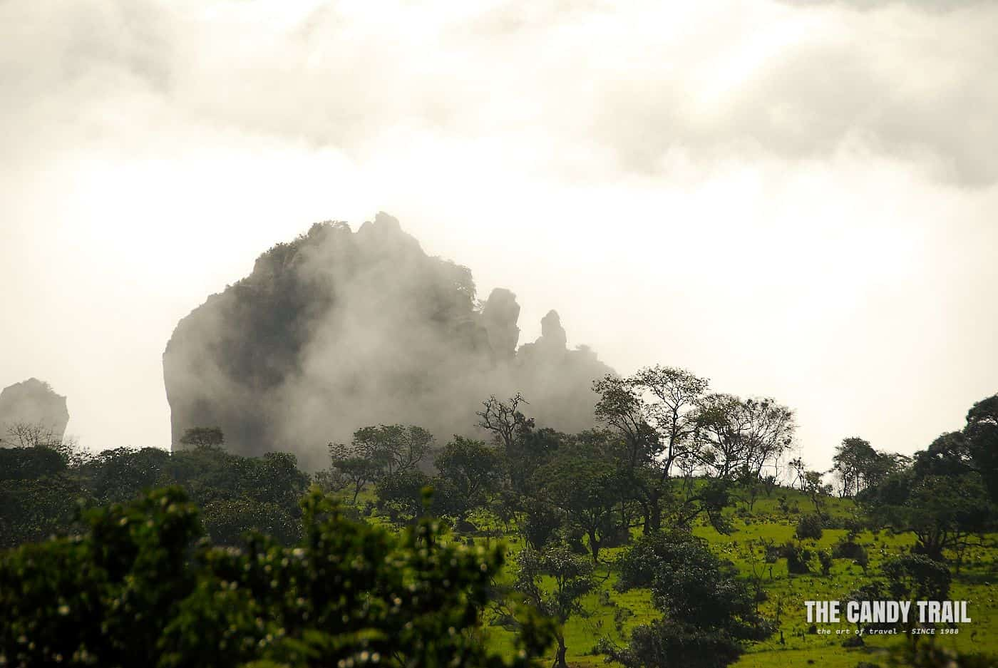 misty peak doucki canyon guinea