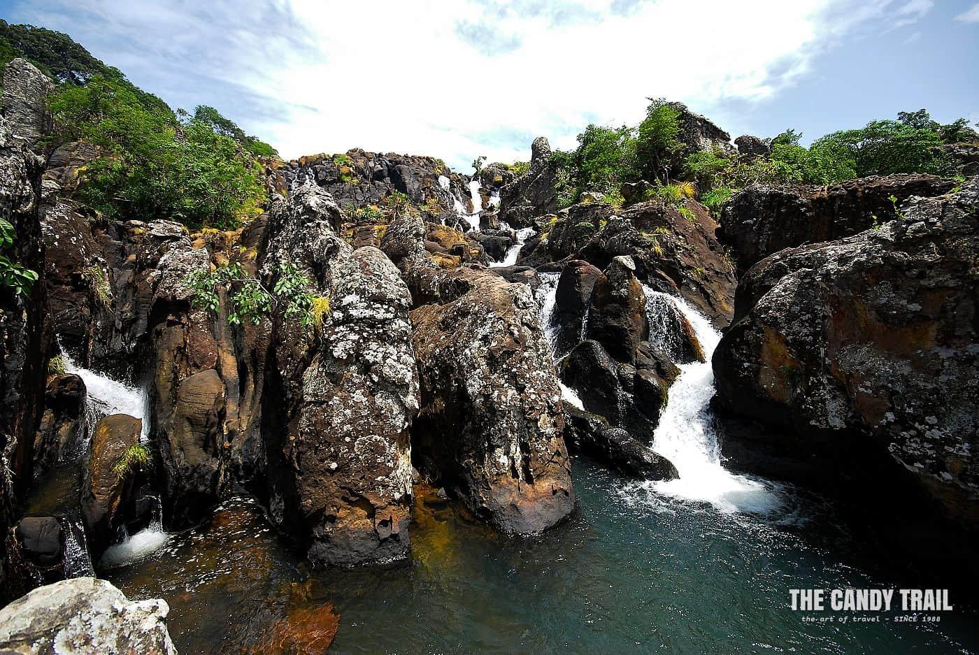 waterfall doucki fouta djallon guinea
