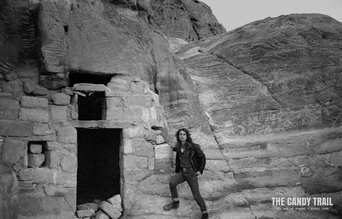 MRP sleeping cave petra jordan 1989