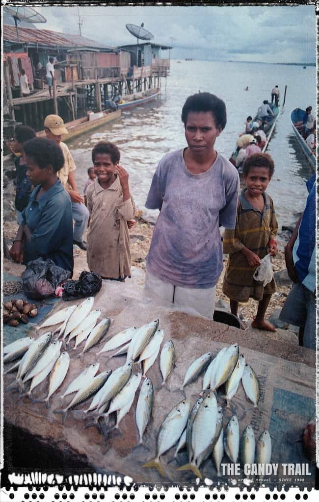 fish market sarong indonesia 1999