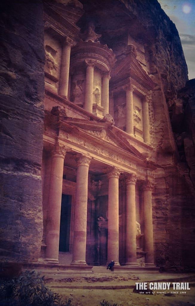 treasury tomb petra jordan 1989