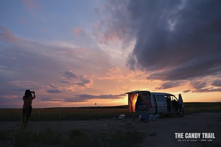 van life traveling china