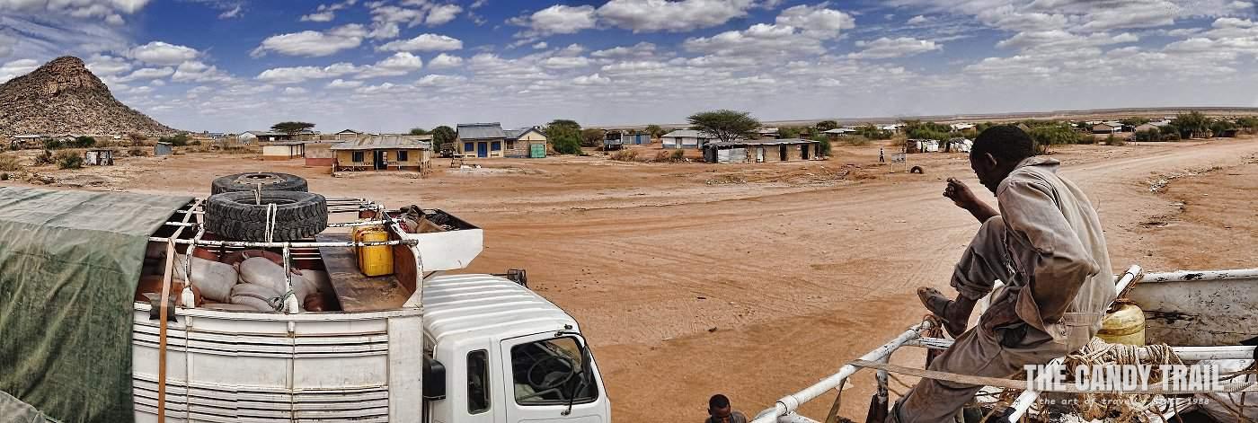 atop of trucks traveling moyale marsabit kenya