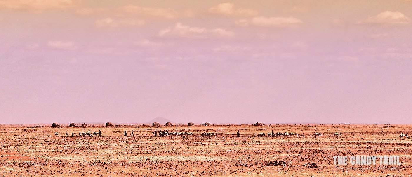nomads in distance moyale marsabit kenya