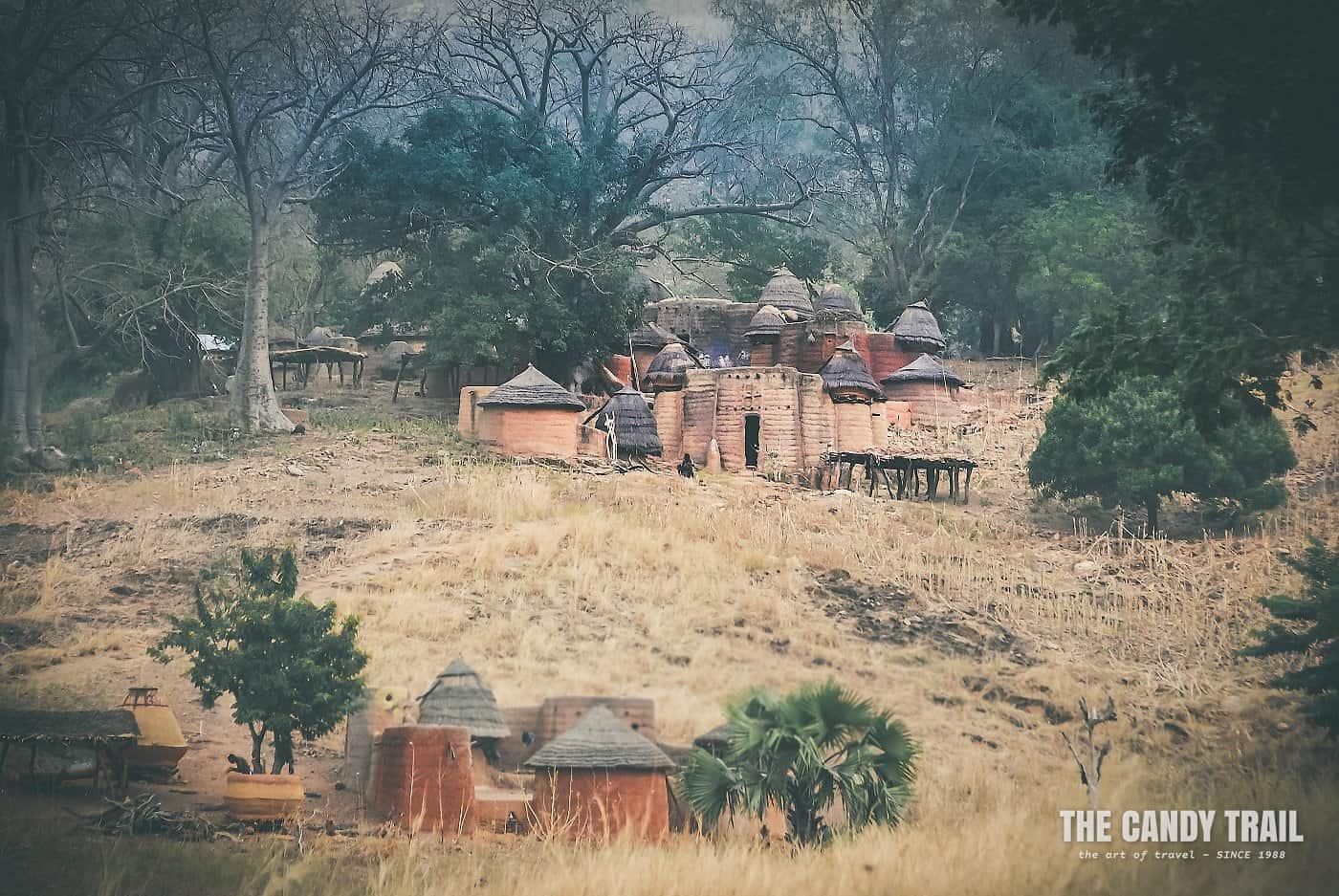 mud fort houses tamberma valley togo