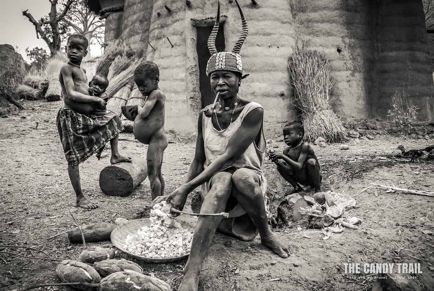 traditional woman tamberma valley togo 1