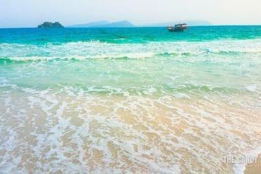 4k beach koh rong island cambodia