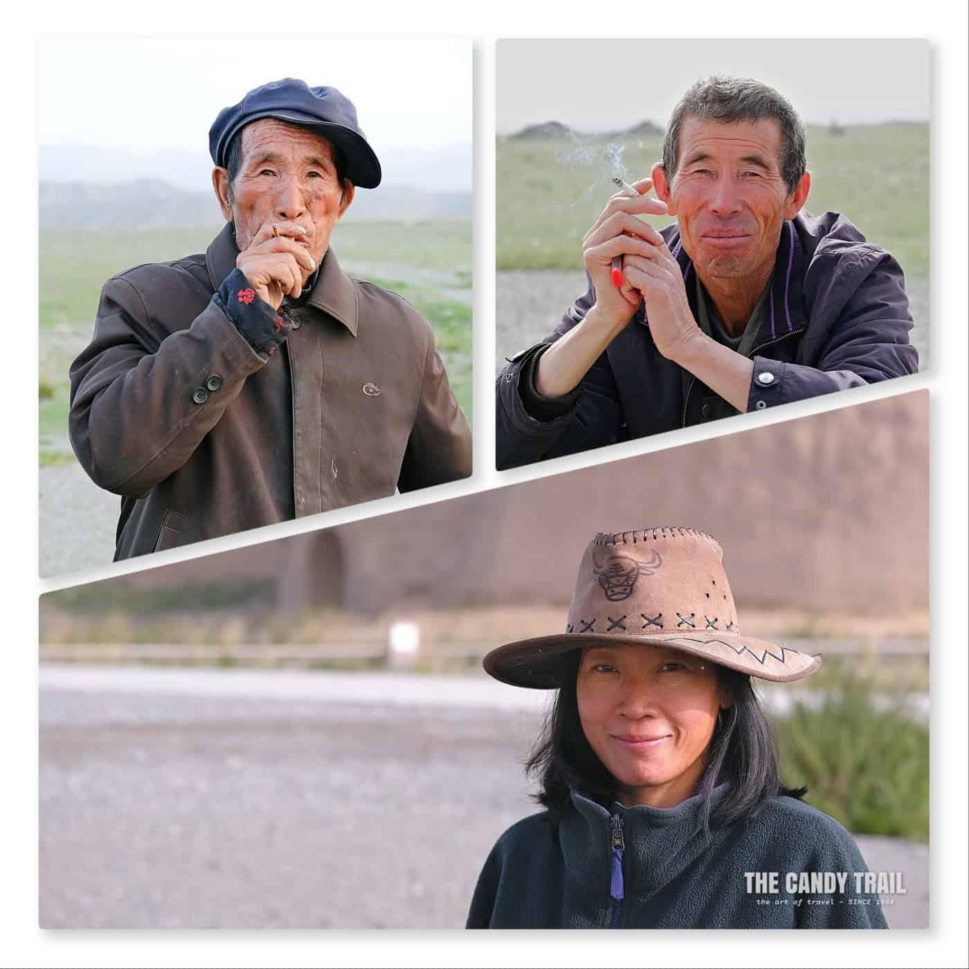 residents yongtai china portraits