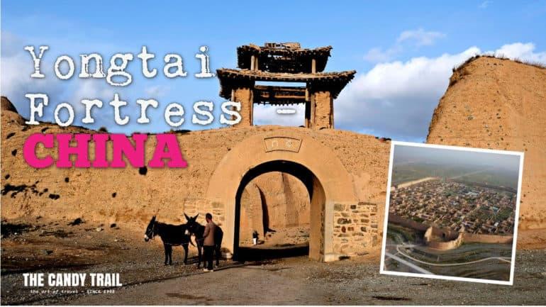 video yongtai-fortress-gansu-china