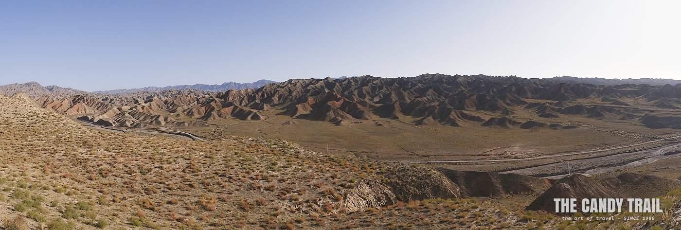 yugur nomad desert landscape china