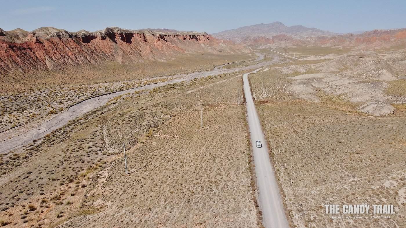 yugur nomad land aerial photo china