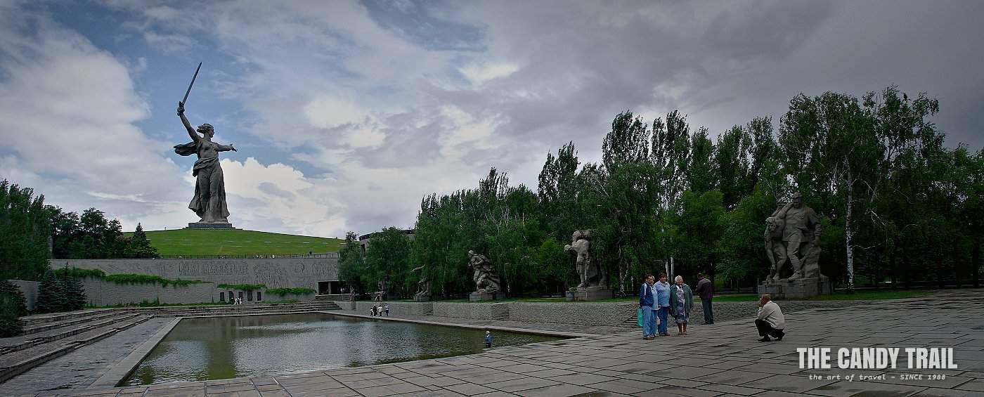 stalingrad war memorial panorama russia