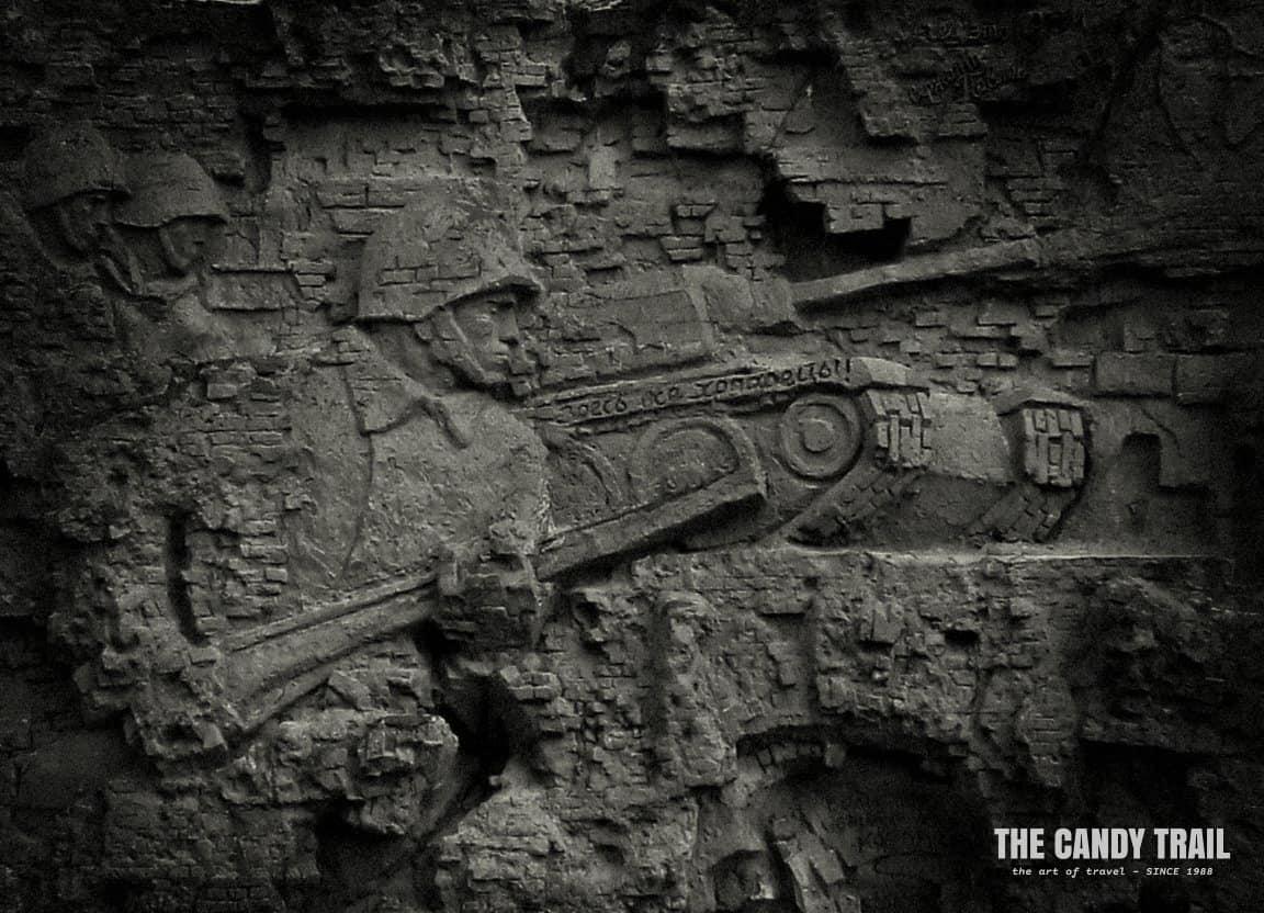 stalingrad war memorial russia