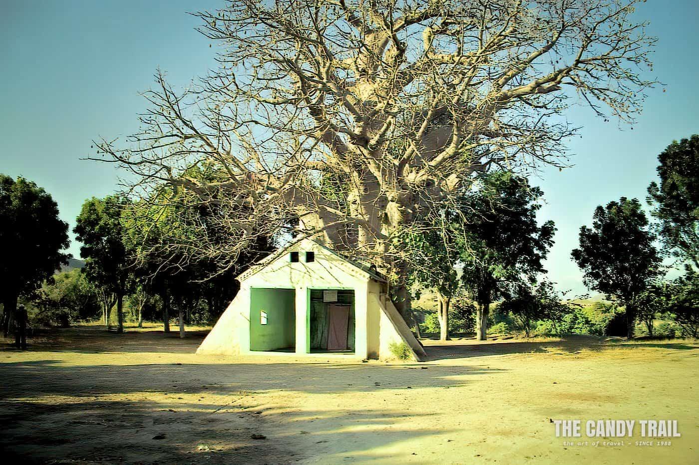 Mariam Derit black virgin shrine near Keren
