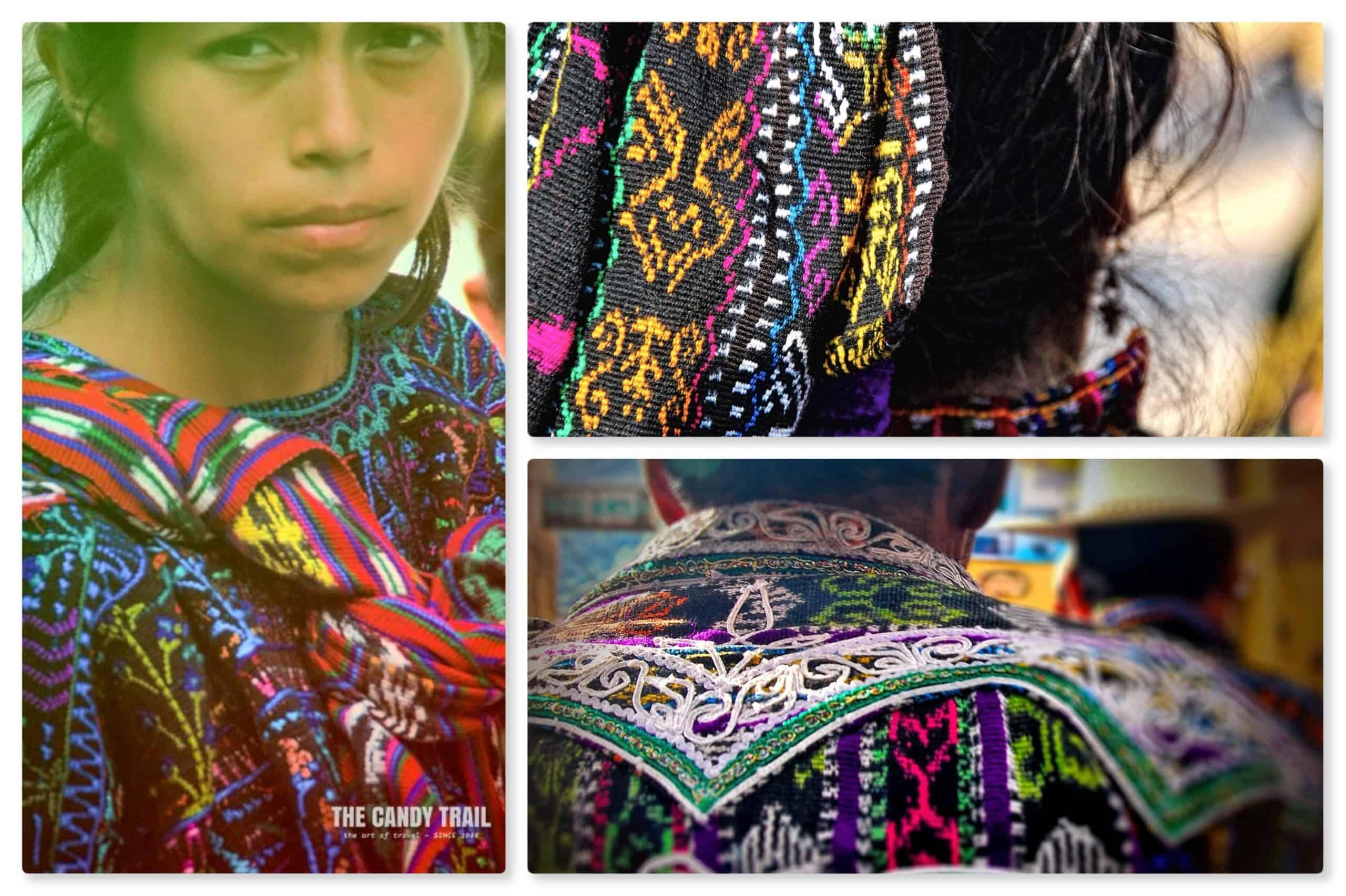 colorful mayan clothing guatemala