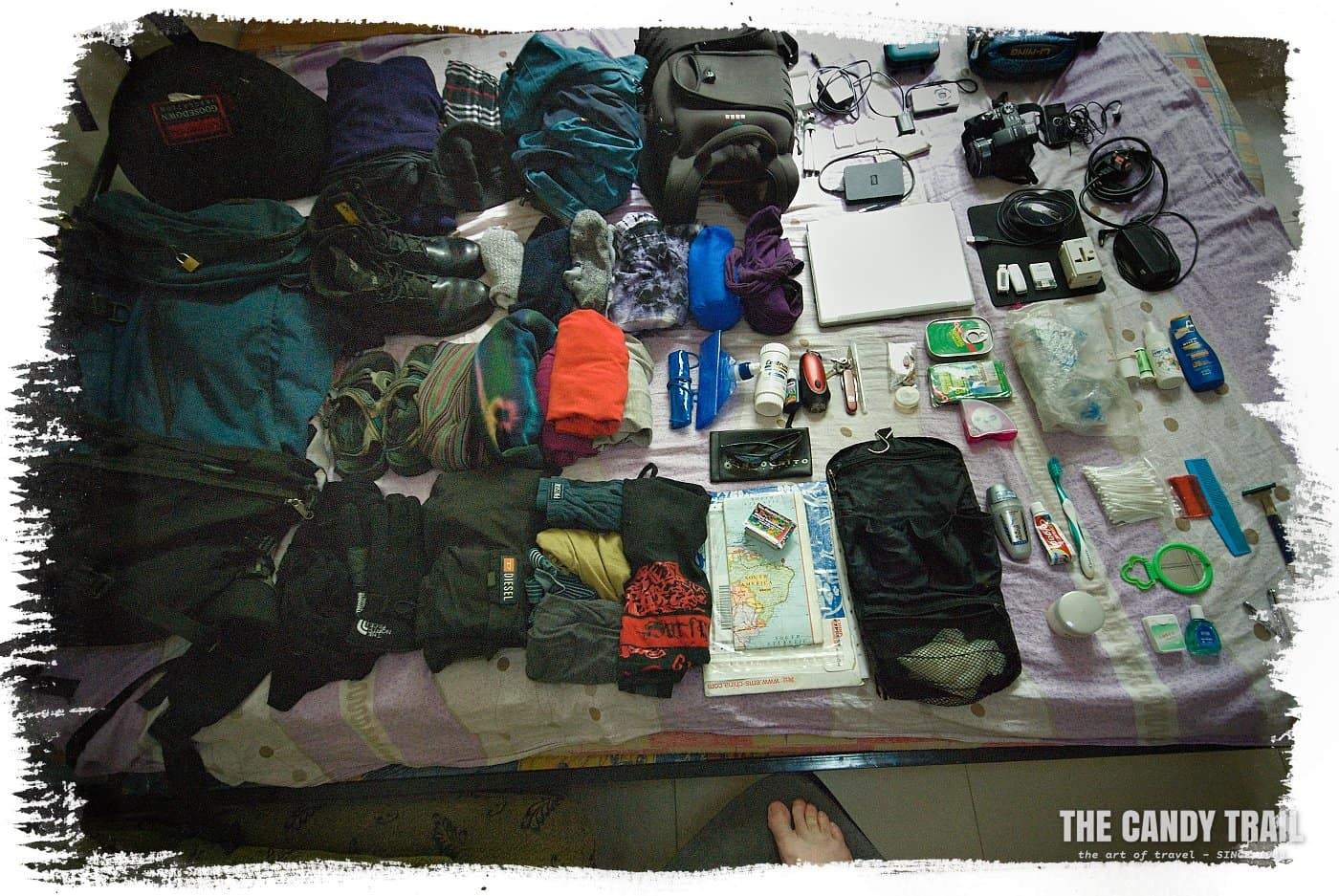 backpacking travel gear