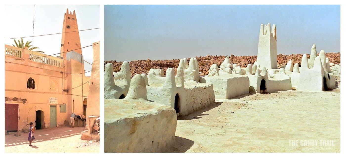 Tomb of famous Ibadi religious leader Shiekh Sidi Aissa in the cemetery at Melika